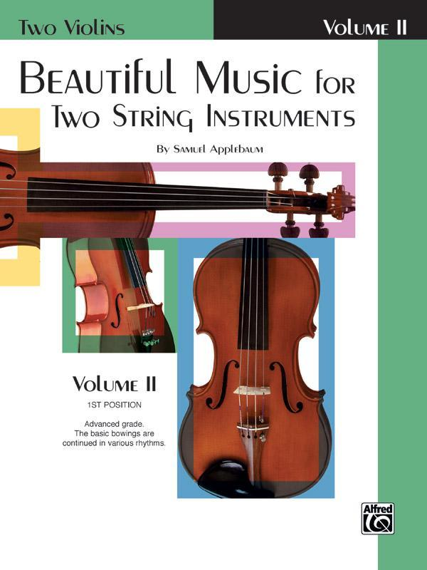 Beautiful Music for Two String Instruments - Book II