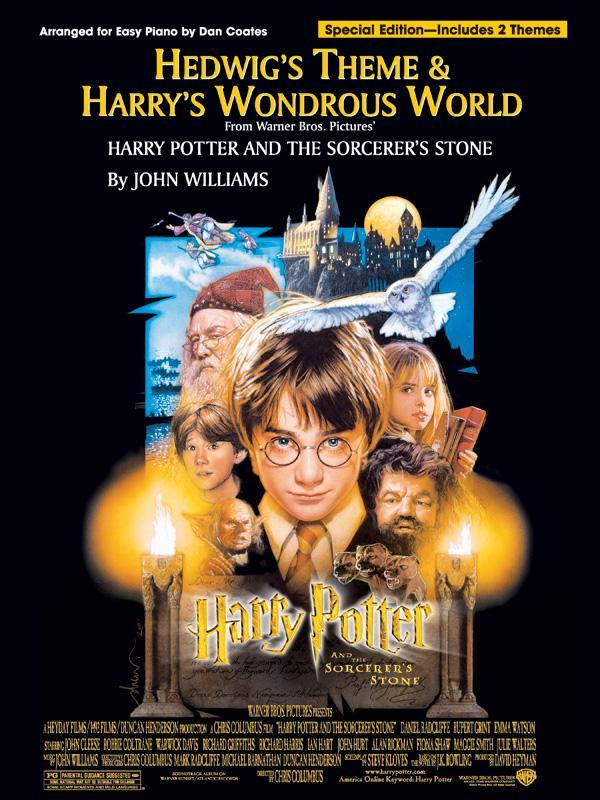 Hedwig's Theme & Harry's Wondrous World (Easy Piano)
