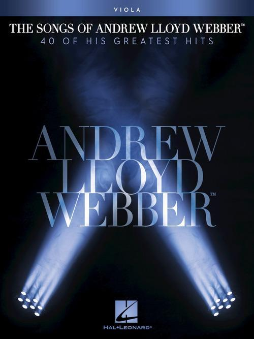 The Songs of Andrew Lloyd Webber (Viola)