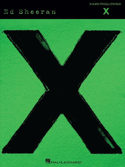 Ed Sheeran - X (Piano/Vocal/Guitar Artist Songbook)