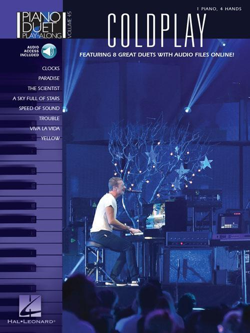 Coldplay - Piano Duet Play-Along Volume 45