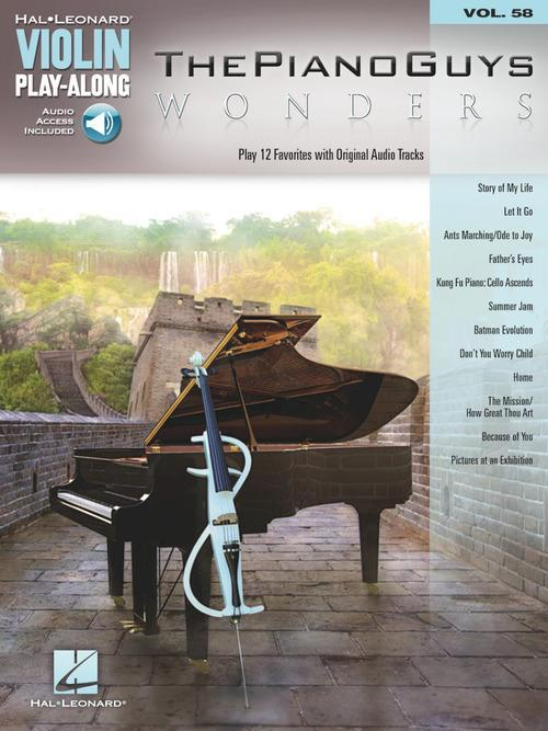 The Piano Guys - Wonders (Violin Play-Along Volume 58)