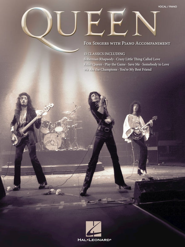 Queen - For Singers with Piano Accompaniment