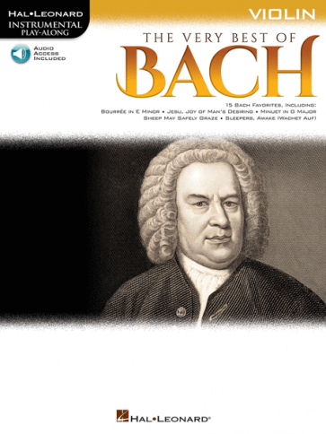 The Very Best of Bach - Instrumental Play-Along® for Violin