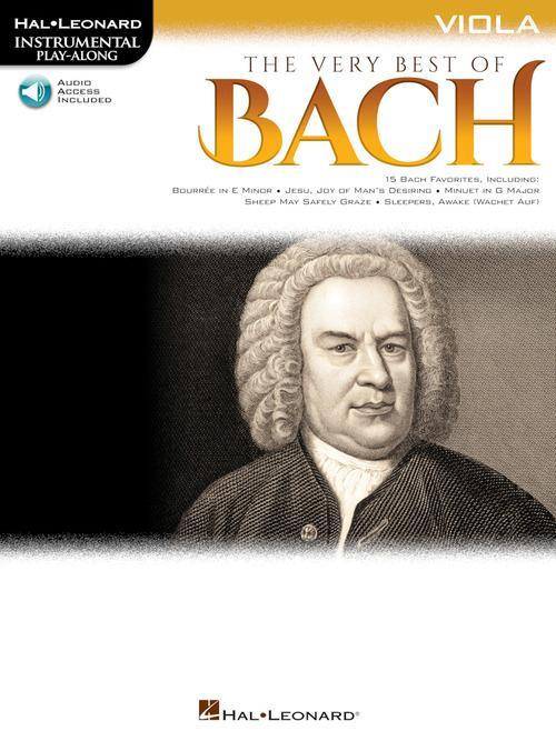 The Very Best of Bach - Instrumental Play-Along® for Viola