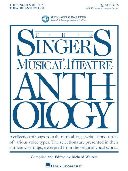 Singer's Musical Theatre Anthology - Quartets (Book/Online Audio)
