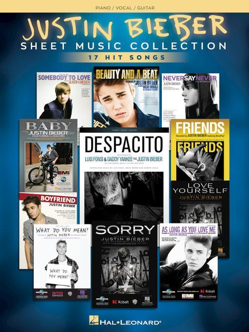 Justin Bieber - Sheet Music Collection