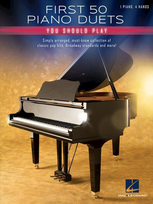 First 50 Piano Duets You Should Play book