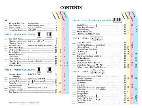 Piano Lessons Book 1