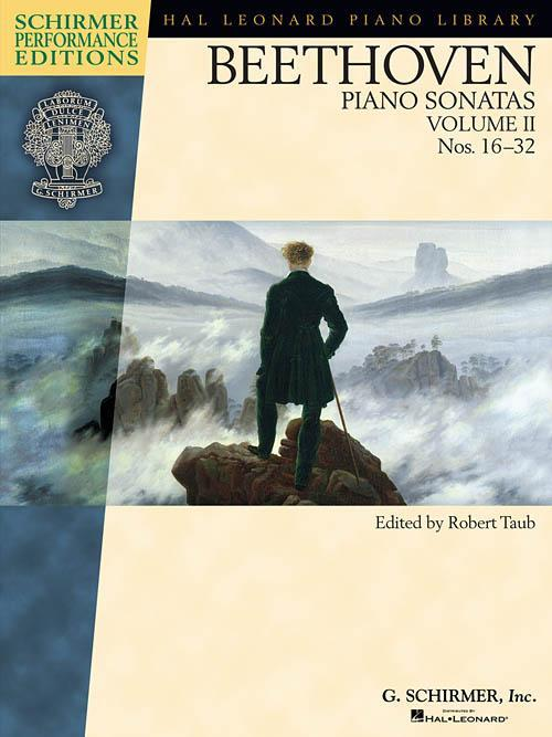 Beethoven - Piano Sonatas, Volume II - Book Only