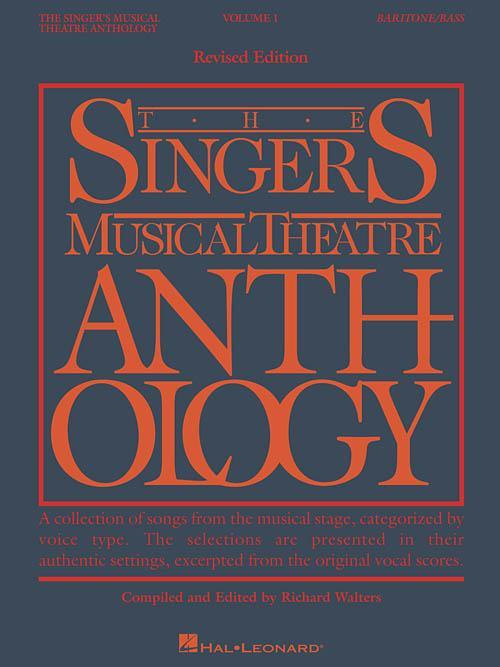 The Singer's Musical Theatre Anthology - Volume 1, Revised (Baritone/Bass)