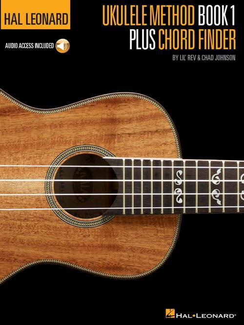 Hal Leonard Ukulele Method Book 1 Plus Chord Finder