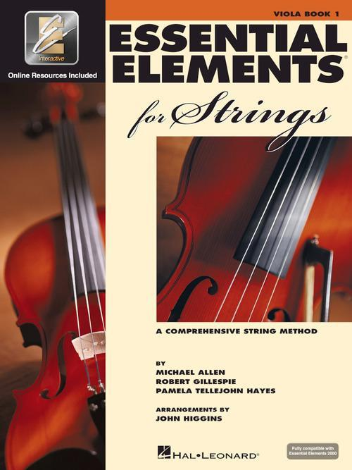 Essential Elements for Strings - Viola Book 1 with EEi