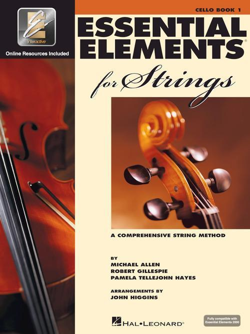 Essential Elements for Strings - Cello Book 1 with EEi