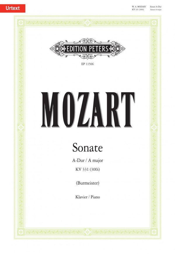 Mozart: Sonata in A Major, K. 331
