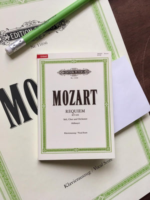 Sticky Notes - Mozart