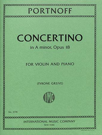 Concertino in A minor, Op. 18