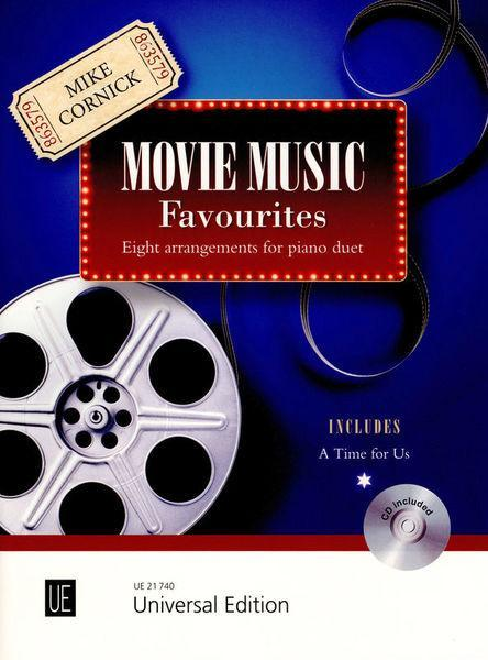 Movie Music Favourites Sheet Music By Mike Cornick