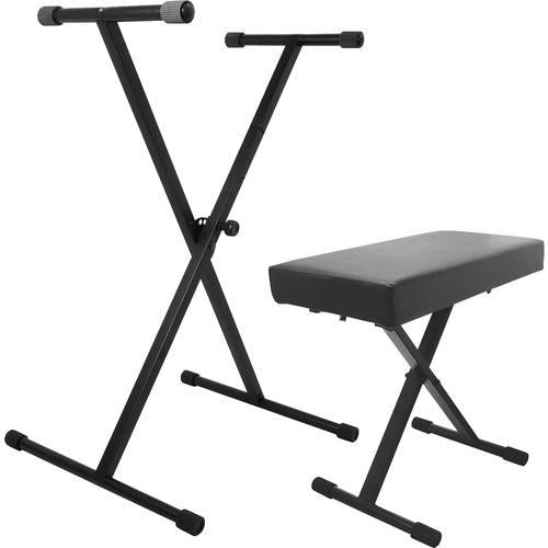 On-Stage Stands KPK6500 Keyboard Stand and Bench Pack