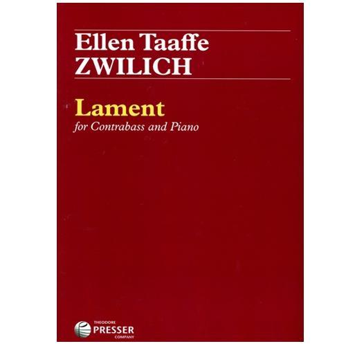 Lament: For Contrabass and Piano