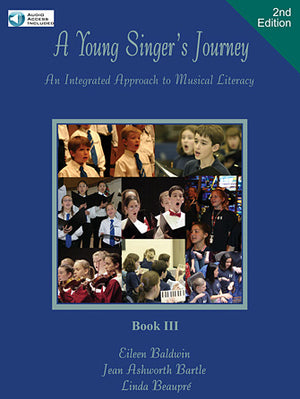 A Young Singer's Journey - Book 3, 2nd Edition