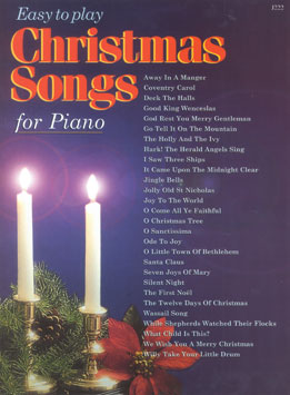 Easy to Play Christmas Songs for Piano