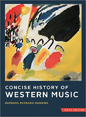 Concise History of Western Music (Fifth Edition) (Hardcover)