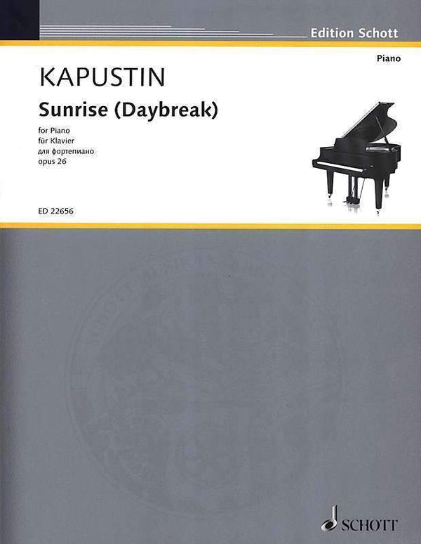 Sunrise (Daybreak), Op. 26 for Piano