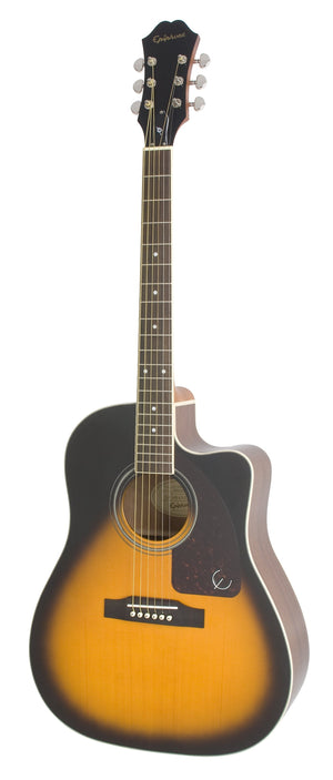 Epiphone AJ-220SCE Solid Top Acoustic Electric Guitar