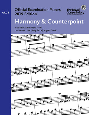 RCM 2019 Official Examination Papers: ARCT Harmony & Counterpoint