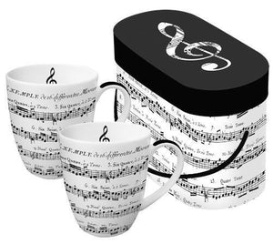 2-piece Adagio Mug Set Giftbox