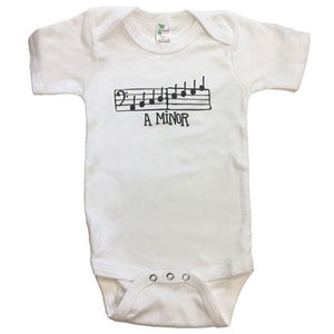 A Minor Onesie (for 6-12 months) - White