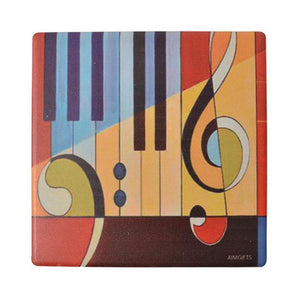 Coaster - Piano Art Abstract