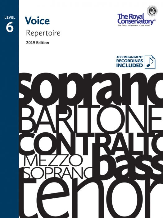 RCM - Voice Repertoire Level 6, 2019