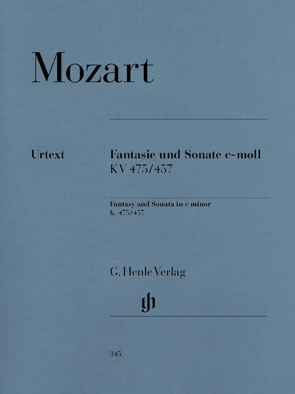 Fantasy and Sonata C minor K475/457