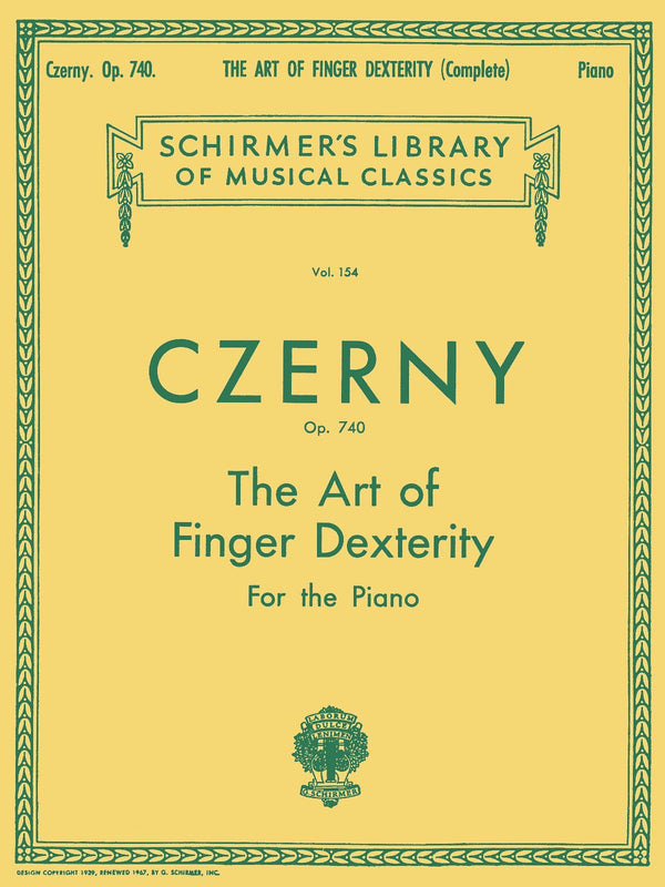 Art of Finger Dexterity, Op. 740 (Complete)