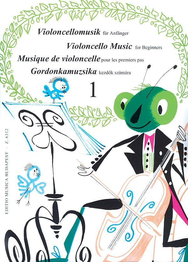 Violoncello Music for Beginners - Volume 1
