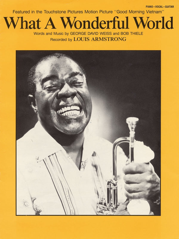 Louis Armstrong  -What a Wonderful World