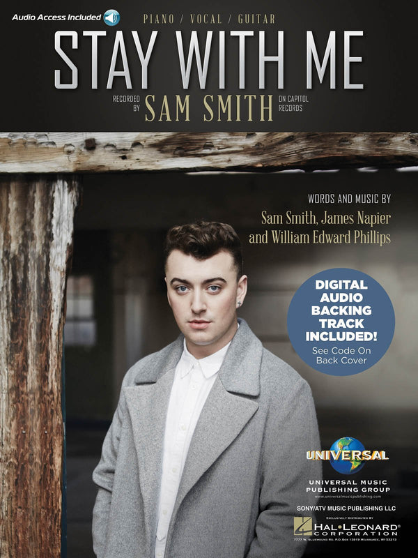 Sam Smith - Stay with Me (Piano Vocal with Online Audio)