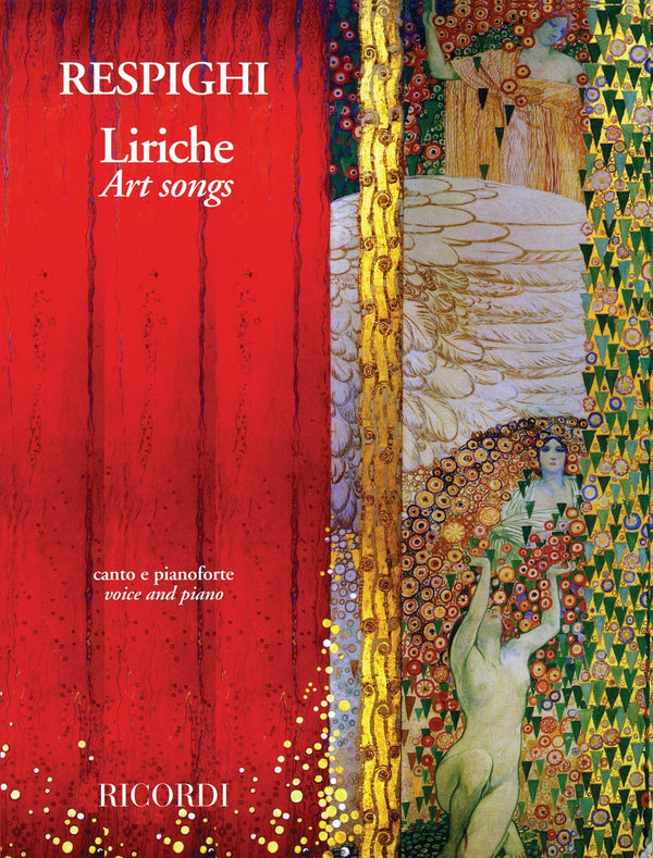 Respighi: Liriche - Art Songs in Medium High Voice