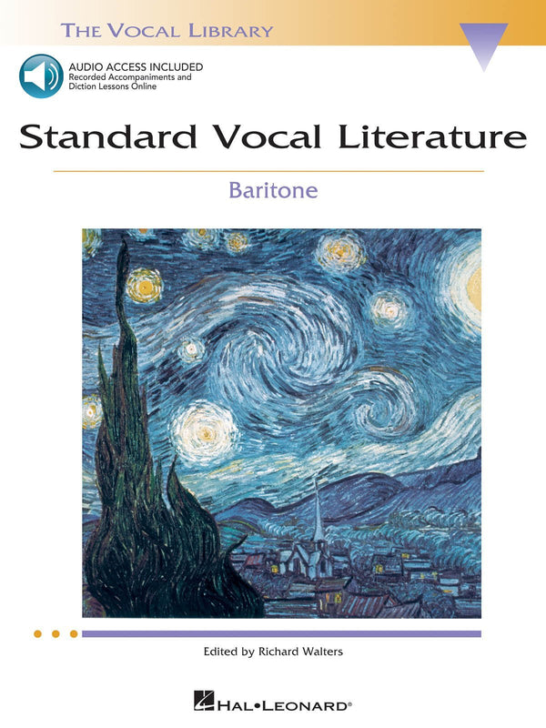 Standard Vocal Literature - An Introduction to Repertoire (Baritone)