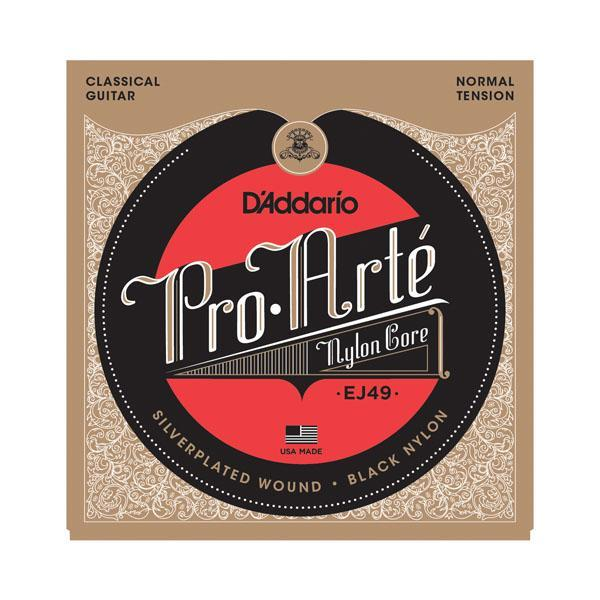 D'Addario EJ49 Pro-Art̩ Black Nylon, Normal Tension