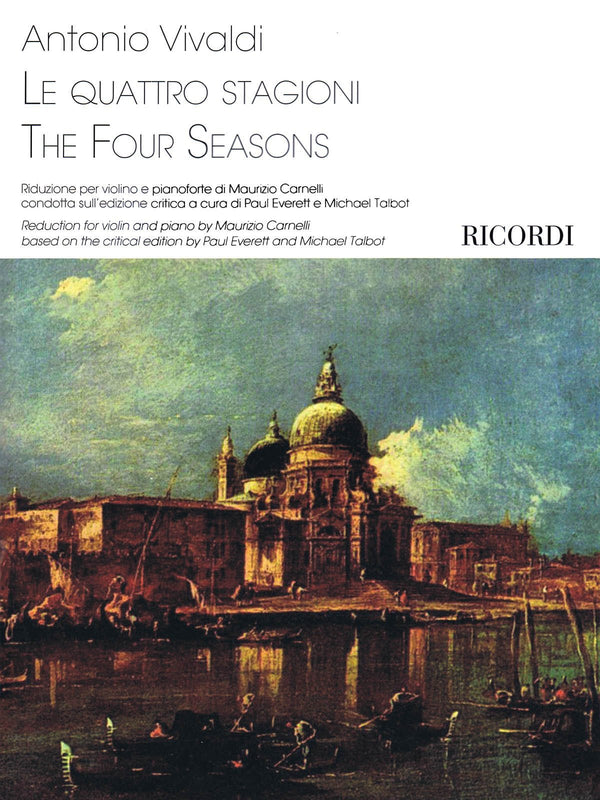 The Four Seasons (Reduction for violin and piano by Maurizio Carnelli)