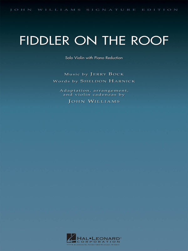 Fiddler on the Roof (Violin and Piano)
