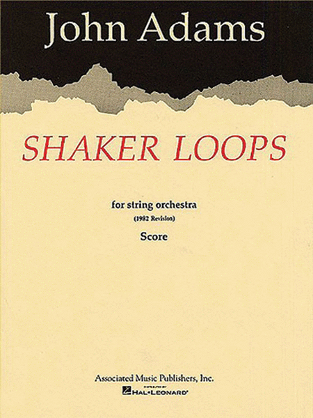 Shaker Loops (revised)