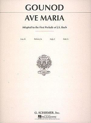 Ave Maria (Medium High Voice in F)