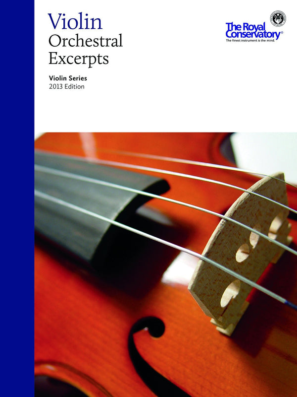 Violin Orchestral Excerpts, 2013 Edition