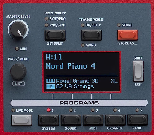 Nord Piano 4, 88-key Keyboard