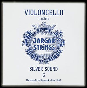 Jargar Silver Sound Cello String C Medium