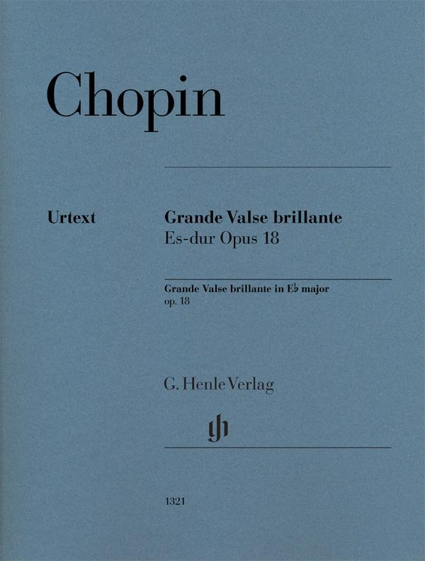 Grande Valse Brillante E-flat Major Op. 18